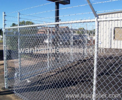 hot dipped galvanized airport fences