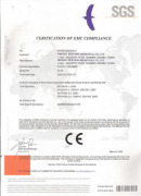 CE CERTIFICATE FOR STEAMERS