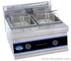 HDF-685A Counter Gas double-tank (double Baskets) Fryer