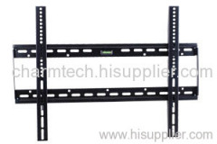 Black Steel Fixed TV Bracket