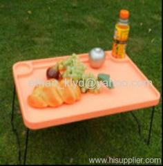 Portable Folding Outdoor Plastic Table For Picnic