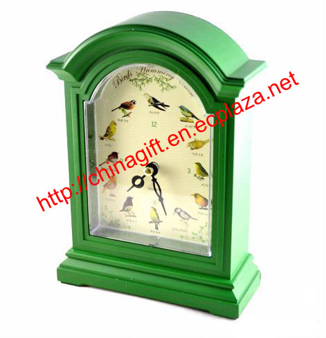 Birds Humming Clock