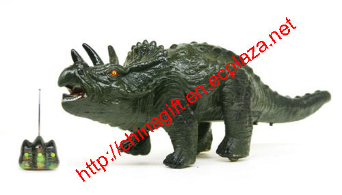 Remote Control (RC) Tiriceratops Toy Dinosaur