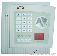 32 zone wireless burglar alarm system
