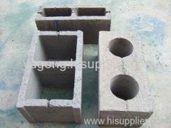 yugong brand semi-automatic hollow block making machine