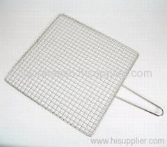 square stainless steel barbecue grill mesh