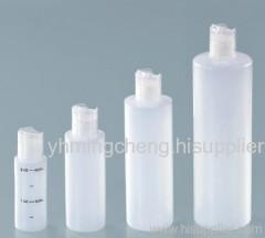 HDPE press cap bottle