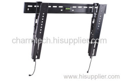 Black Steel Super Low-Prlfile TV Bracket