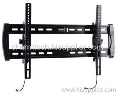 Black Steel Plasma LCD TV Bracket