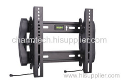 Black Steel Tilting Automatic Anti-theft LCD TV Mount