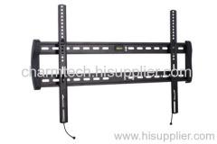 Black Steel Fixed Super Low-Profile TV Wall Mounts