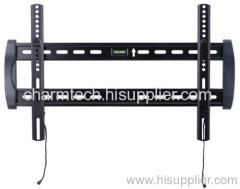 Black Steel Super Low-Profile TV Wall Bracket