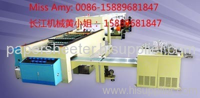 5 pocket paper sheeting machine and packaging machine