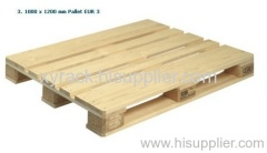 single faced wooden pallet for warehouse or supermarket