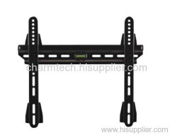 Black Super Low-Profile LCD TV Wall Brackets