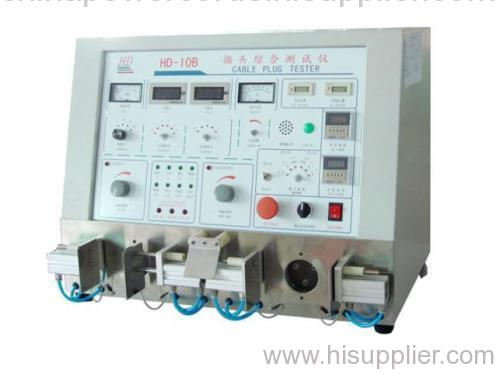Cable plug tester with CE