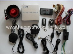 Car Accessories - GSM Car Alarm System with Remote Monitoring and Control