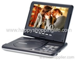 9 Inch Portable DVD Player with Swiveling Screen from Happyshoppinglife