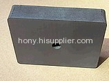 sintered block ferrite ceramic magnet with hole