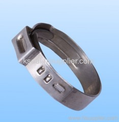 Monaural Nonpolar Stainless Steel Hose Clamp
