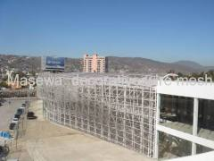 stainless steel facade/wall decoration