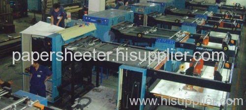 Paper sheeting machine/Paper cutting machine/paper roll sheeters/paper roll cutters