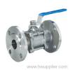 3-flanged ball valves