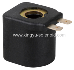 solenoid coil for automotive valve
