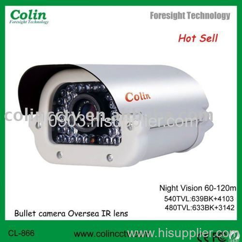 High difinition white light CCTV camera