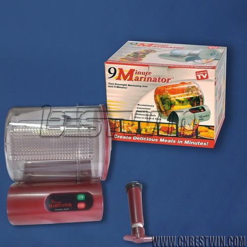 9 minute marinator blender