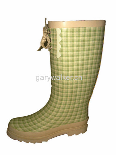 ladies' fashion rain boots