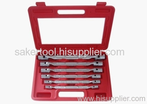 Double End Swivel-Socket Wrench Tool Set