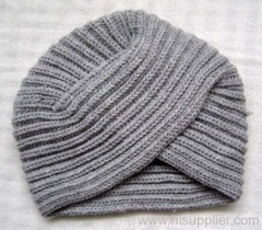 acrylic knitted hat
