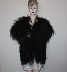 womens feather coat