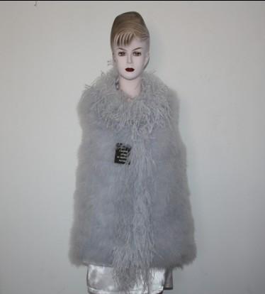 Feather vest