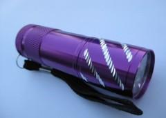 9 LED Aluminum Portable torch