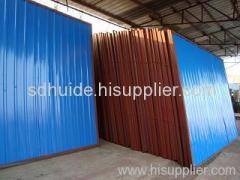 composit steel panels