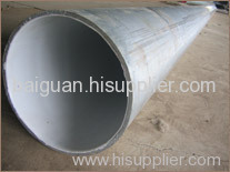 A53 GrB carbon seamless steel pipe with large diameters