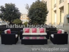 Outdoor PE rattan furniture new sofa set