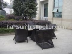 Garden furniture dining set