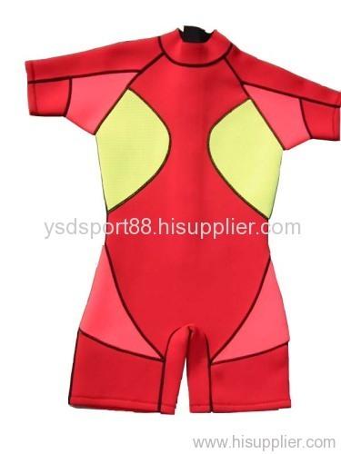 shorty wetsuit neoprene