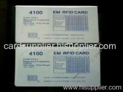 Proximity card/ID card/125KHZ EM4100 card