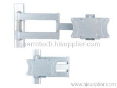 Fashion Silver Tilting and Swiveling TV Mount