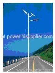 Solar street light with monocrystalline silicon