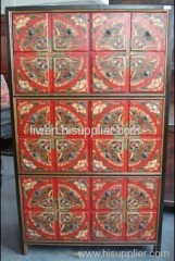 Antique Tibet wardrobe