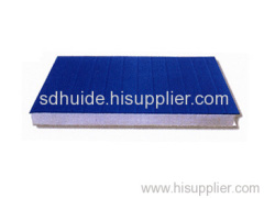 galvaniz color steel sanwich