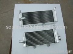 oversize aluminum motorcycle radiator
