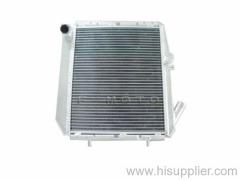 oversize auto radiator made of full aluminum for Renault 5