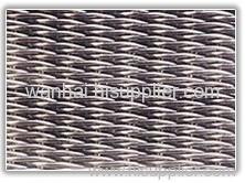 Twilled dutch weave wire mesh