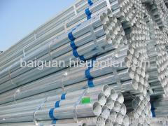 Q390B galvanized steel pipe
